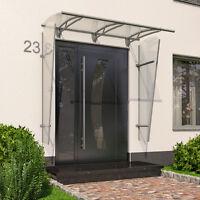 Vordach Haustürdach Haustürvordach Alu Kunststoff Pultvordach 190x95 270x95 cm