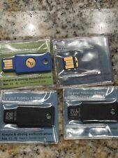 New listing 1x Yubico Security Key, 1x YubiKey 4 nano, 2x Yubikey 4