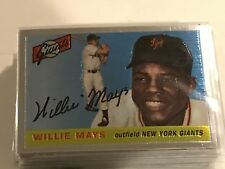 WILLIE MAYS 1997 TOPPS FINEST REPRINT INSERT #7  GIANTS!