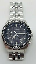 CITIZEN Global Radio Controlled Eco-Drive Sapphire Watch BUY IT NOW! H144