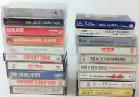 Lot of 19 Vintage Cassette Tapes - Sugar Cubes, Heirloom, Price, Sioux City