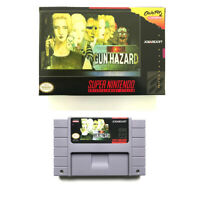 Front Mission Gun Hazard for snes game cartridge english translated