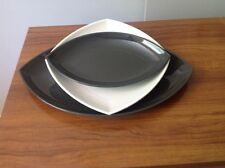 Tupperware Zen serving trays x 3 1 square 2 oval
