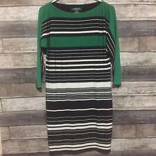 Lauren Polo Ralph Lauren Women's Striped And Lined Shirt Dress Size 4 Petite