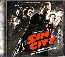 Frank Miller's SIN CITY- 2005 Soundtrack CD- Robert Rodriguez/John Denby