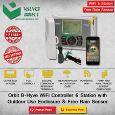 Orbit B-Hyve 6 Station WiFi Irrigation Controller-Outdoor use (Free Rain Sensor)