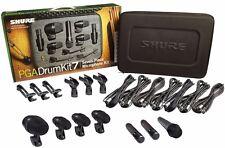 Shure PGADrumKit7 Drum Instrument Microphone Set Mic PGA Drum Kit 7