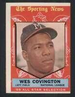 1959 Topps #565 Wes Covington VGEX Braves AS 57492