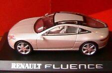 RENAULT FLUENCE CONCEPT CAR SILVER ARGENT 1/43 NOREV altaya