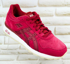 ASICS GEL GT-2 Trainers Premium Sneakers Running Burgundy Gym Shoes 7 UK 40.5 EU