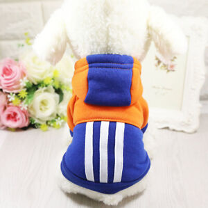 Puppy Dog Cat Hoodie Warm Small Pet Clothes Coat Apparel 4 Color For Choose