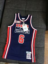 Mitchell Ness Authentic USA Jersey 1992 Patrick Ewing NBA - size Small 36 - $300