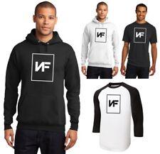 New NF Logo American Rapper Perception T-Shirt 3/4 or Hoodie Men's Small-6XL