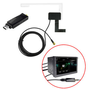 USB 2.0 Digital DAB + Radio Tuner Receiver Stick For Android Car DVD Player Cw