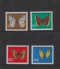 WEST GERMANY MNH STAMP DEUTSCHE BUNDESPOST 1962 CHILD WELFARE  SG 1290-1293