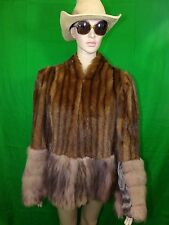 Mink Fox Fur Coat By The Tailored Woman Fifth Ave New York Vintage