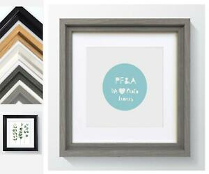 Hoxton Square Photo Frame Picture Instagram Modern Various Colours and Sizes UK