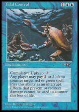 Mtg 1x Tidal control-alliances * rare Enchantment NM *