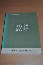 Werkstatthandbuch  HYUNDAI XG25 XG30 Shop Manual 2 Bände Modelljahr 1999