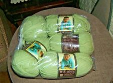 5 Skeins Lion Brand Baby's First Beanstalk Yarn NEW