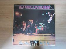 DEEP PURPLE - Live In London 5 Tracks Korea LP 1983 INSERT
