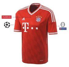 Trikot Adidas FC Bayern Champions League Finale Wembley 2013 UCL Badge