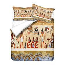 Ancient Egypt Culture God Goddess Eye of Horus Bedding Duvet Quilt Cover Set