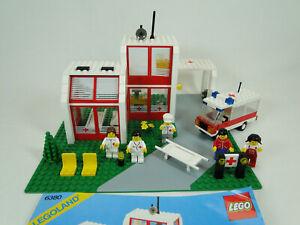 Lego 6380 Hôpital, St. Mary ´S Hospital Complet Avec Manuel Oba