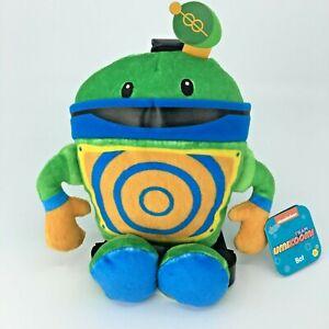 Team Umizoomi 8 in Plush Bot Nickelodeon Nick Jr Stuffed Robot Toy New Tags