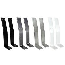 Rückenlehnenhalter Lehnenhalter für Bankkufen Tischkufen  Tischgestell Sitzbank