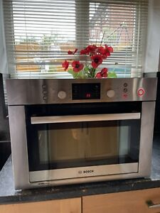 Bosch Built-in Combination Microwave Oven HBC84E653B.