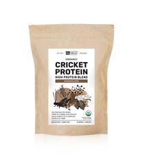 Organic Cricket Protein Powder Chocolate (420g), Dairy Free, Gluten Free
