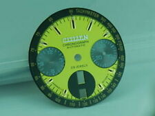 Reloj Cronógrafo reemplazo amarillo Cuadrante CITIZEN 8110 Bullhead