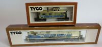TYCO HO Scale Golden Eagle 1102 Diesel Engine Locomotive And Caboose Train Lot