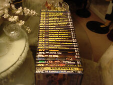 UFC DVDS.....TOTAL OF 30....VERY CLEAN... CLASSICS.....ZOOM TITLES....MASSIVE...