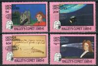 Grenada Grenadines Stamp - Halley's Comet with emblem overprint Stamp - NH