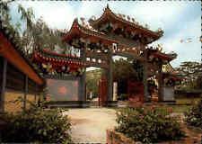 SINGAPORE Singapur Siong Lim Tempel AK 1979 mit Briefmarken Postcard with stamps