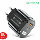 20W PD QC 3.0 Fast Wall Charger USBC Power Adapter For iPhone 12 Pro Max Samsung