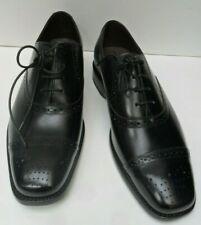 Mens Barker New Black Leather Brogue - Size UK 8 G