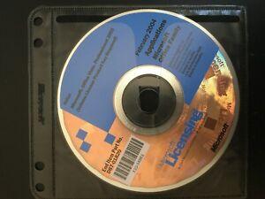 Microsoft Licensing office visio, professional 2003 (con numero di serie)