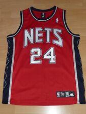 New Jersey Nets Richard Jefferson NBA AUTHENTIC Basketball Trikot Adidas M 40 XL