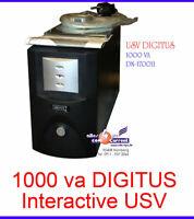 1000Va 1KVA STROMVERSORGUNG OHNE UNTERBRECHUNG MIT USV UPS DIGITUS DN-170011