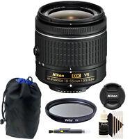 Nikon 18-55mm f/3.5 - 5.6G VR AF-P DX Nikkor Lens for Nikon D5300 DSLR Camera