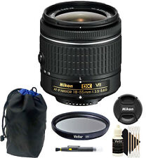 Nikon 18-55mm f/3.5 - 5.6G VR AF-P DX Nikkor Lens for Nikon D5300 DSLR Camera