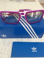 Adidas Originals Custom Lo Purple/white  Sunglasses RRP £85 Bnwt