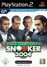 WORLD CHAMPIONSHIP SNOOKER 2004 SONY PLAYSTATION 2 PS2