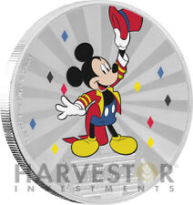 2019 DISNEY MICKEY MOUSE & FRIENDS CARNIVAL - 1 OZ. SILVER COIN - 1ST IN SERIES
