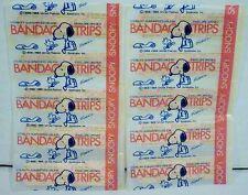 10 Peanuts Snoopy Bandage Strips