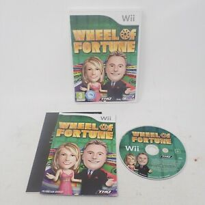 Wheel of Fortune - Wii Speak Compatible (Nintendo Wii) PAL Tested