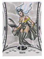 2014 Marvel Premier Storm Sketch Card Bienifer Flores Upper Deck X-Men Base 1/1
